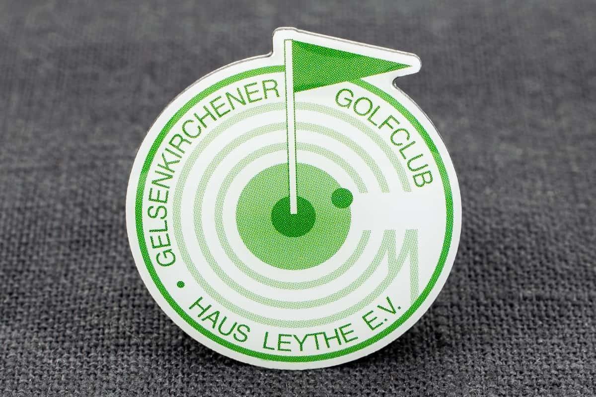 pin-anstecker offsetdruck golfclub gelsenkirchen