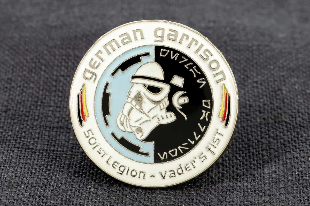 pin-anstecker softemaille german garrison