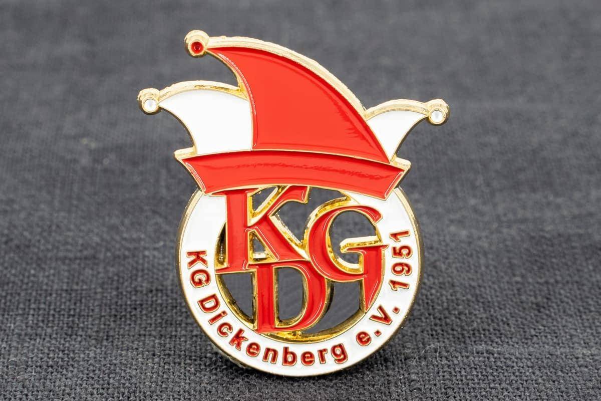 pin-anstecker softemaille kg dickenburg