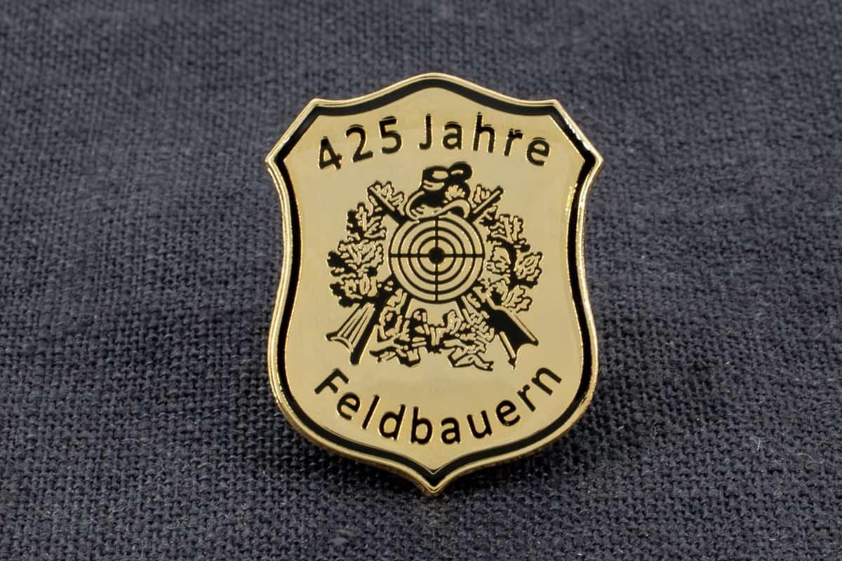 "Anstecknadel Hartemaille ""Feldbauern"""