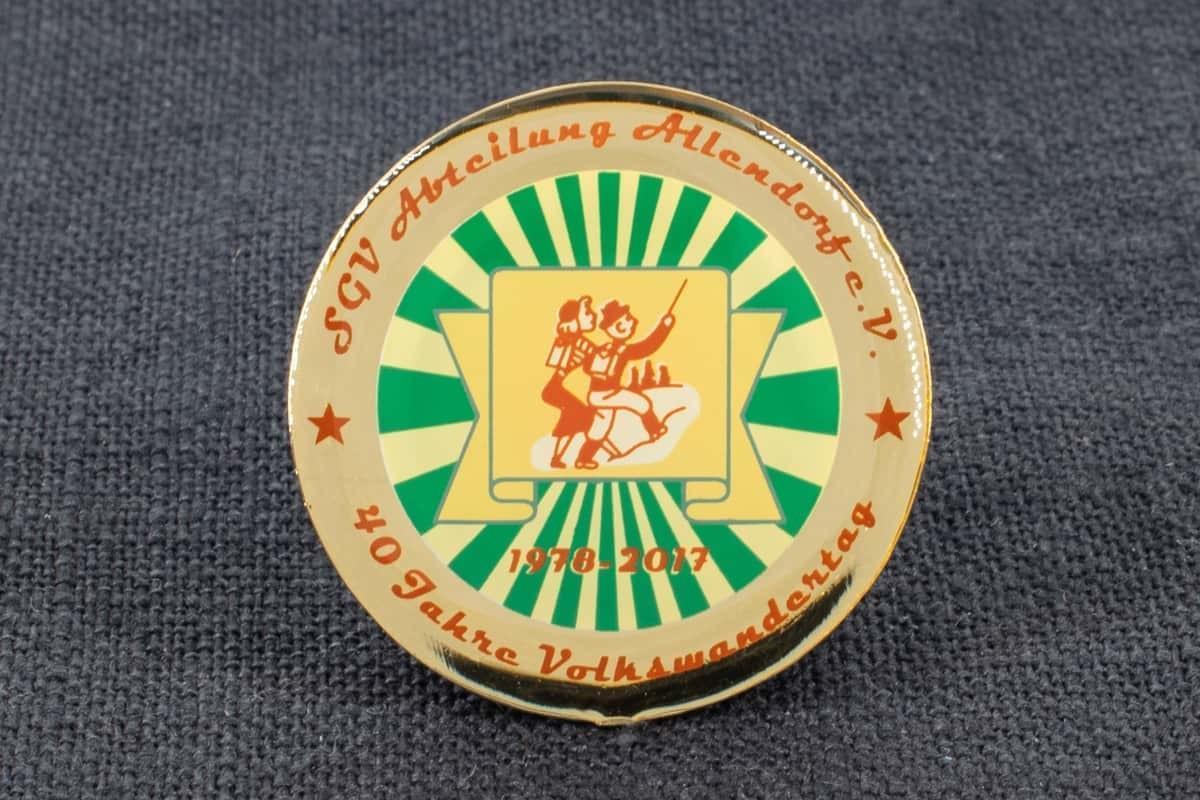 """Pin Siebdruck """"Allendorf"""""""