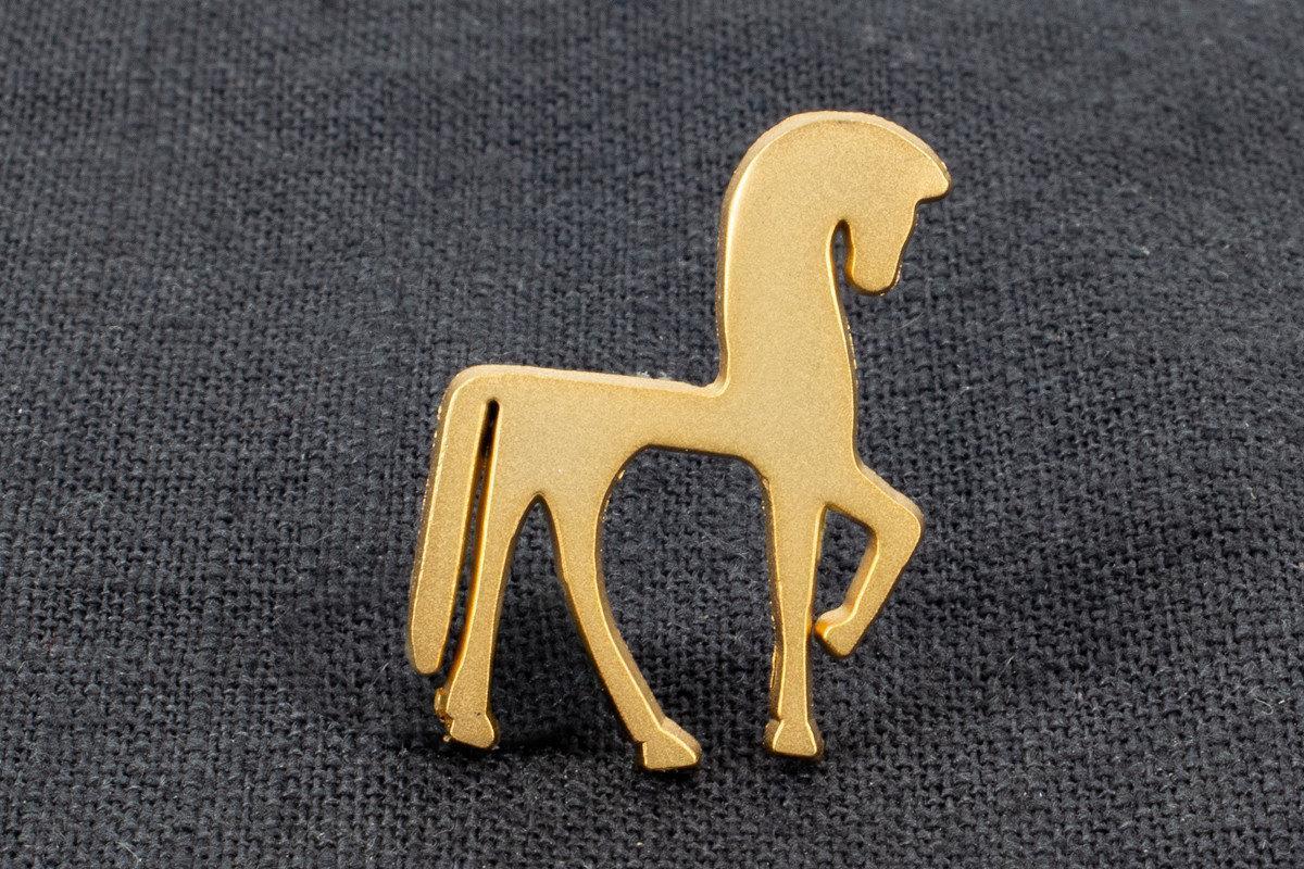 "Anstecknadel Spritzguß ""Pferd"""